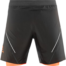 Dynafit Alpine Pro 2-in-1 Shorts Heren, asphalt